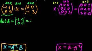 §28 Матричные уравнения