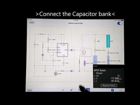 Repeat Battery-Super Capacitor Bank Simulation: Why Tesla bought