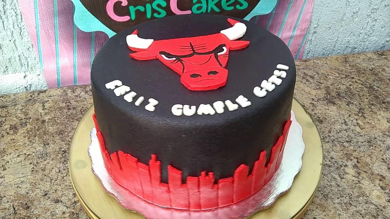 Birthday Cake Chicago Bulls The Best Cake Of 2018