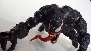 Marvel Legends Icons Venom 12 Inch Figure Review
