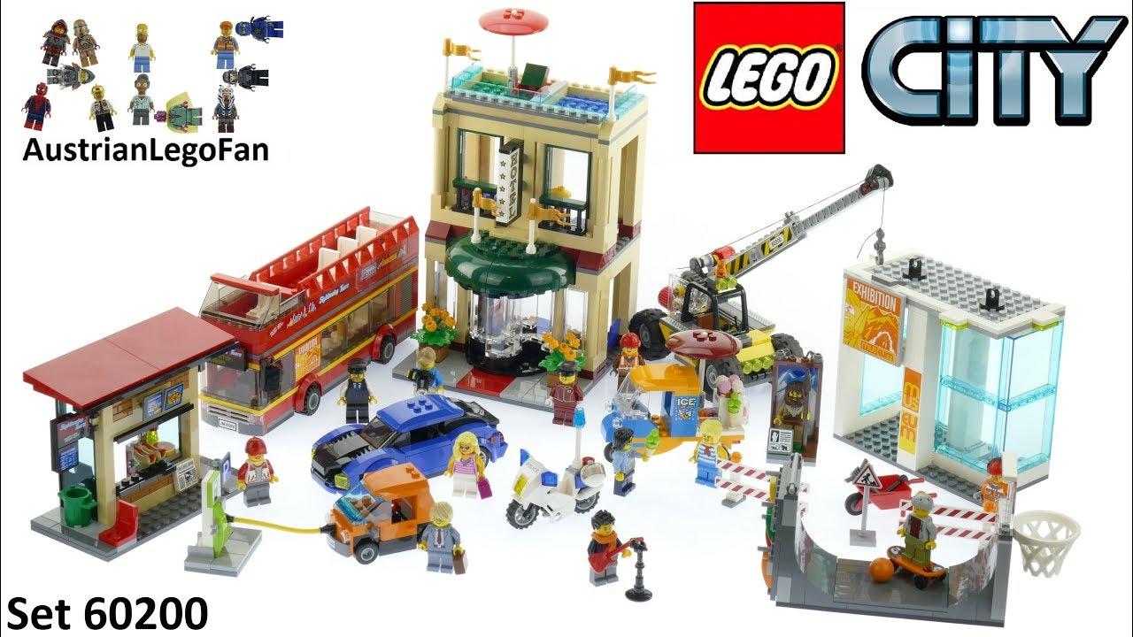Lego City 60200 Capital City Lego 60200 Speed Build Youtube