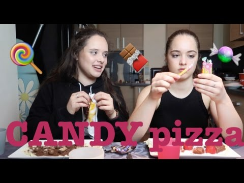 CANDY PIZZA CHALLENGE