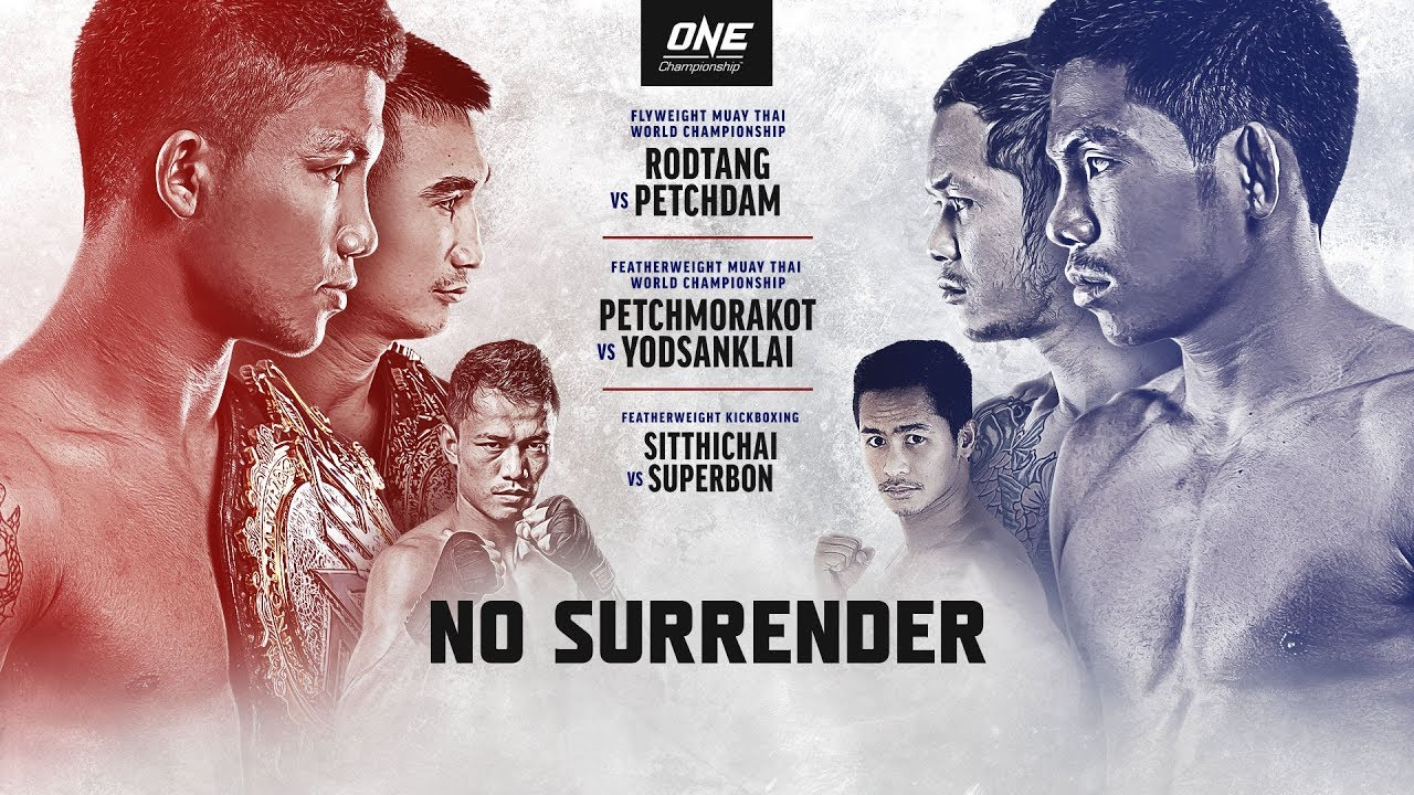 [Full Event] ONE Championship: NO SURRENDER