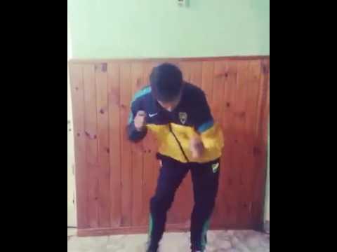 Bailando cumbia villera Pablito Castillo