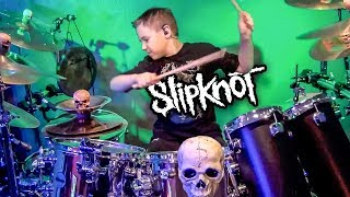 BEFORE I FORGET -  SLIPKNOT (age 9) Drum Cover