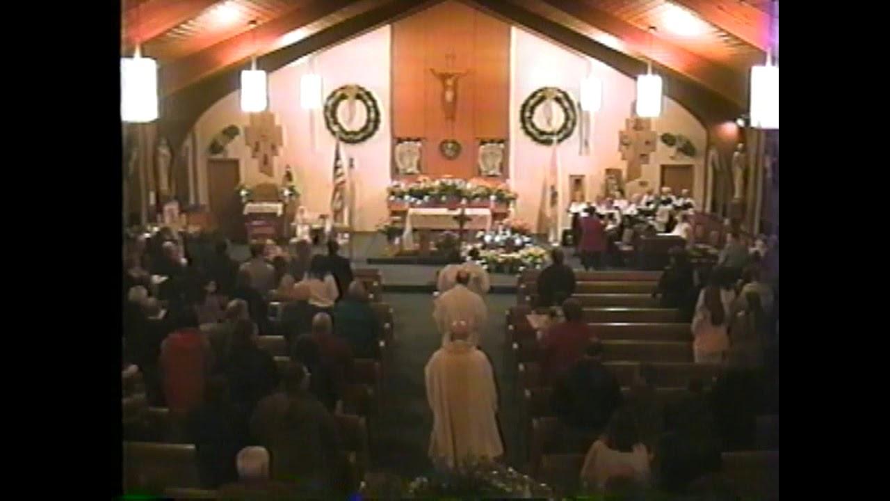 St. Joseph's Mooers Christmas Eve Mass  12-24-04