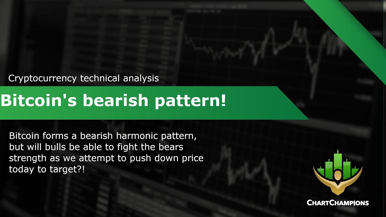 BTC harmonic pattern trading 💰 Bitcoin Technical Analysis.