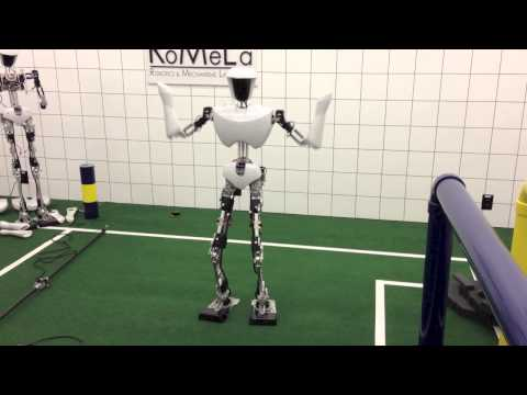 "Dennis Hong debuts a robot that dances to ""Gangnam Style"""