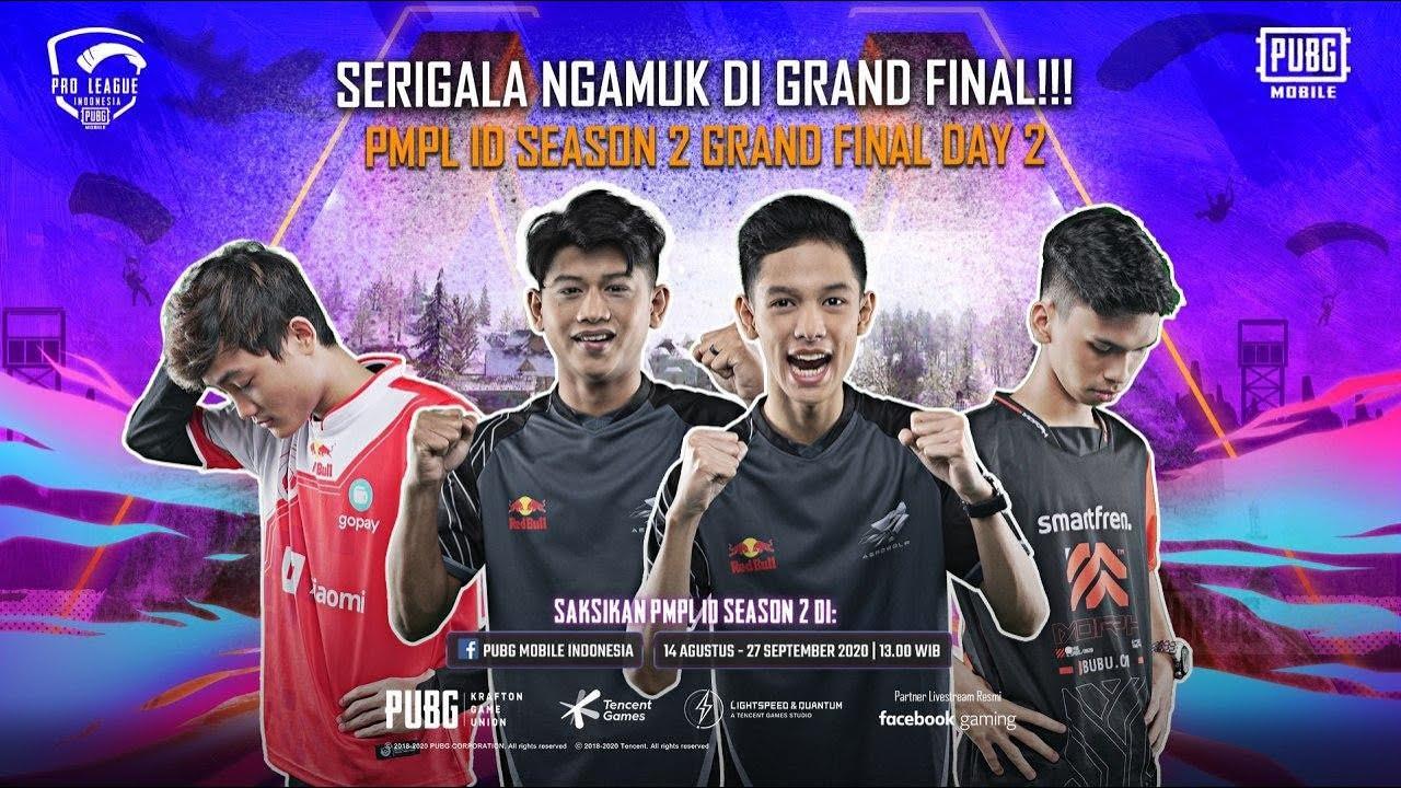 Aerowolf NGAMUK, Bigetron dan Morph Tak Berdaya - Grand Final PMPL ID Season 2 Day 2