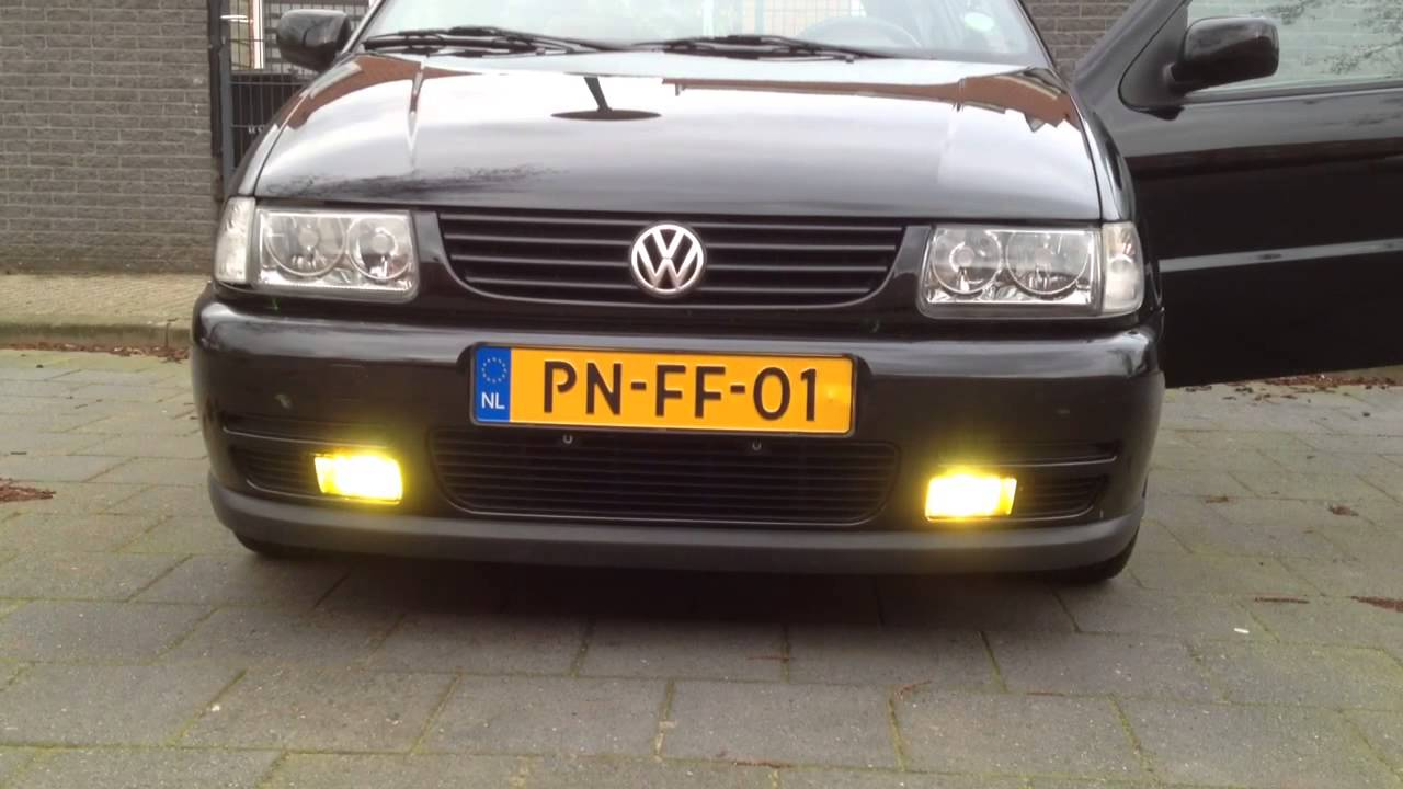 Polo 6n gegen vw up polo 6n 6n2 - 3000k Xenon Foglights Polo 6n