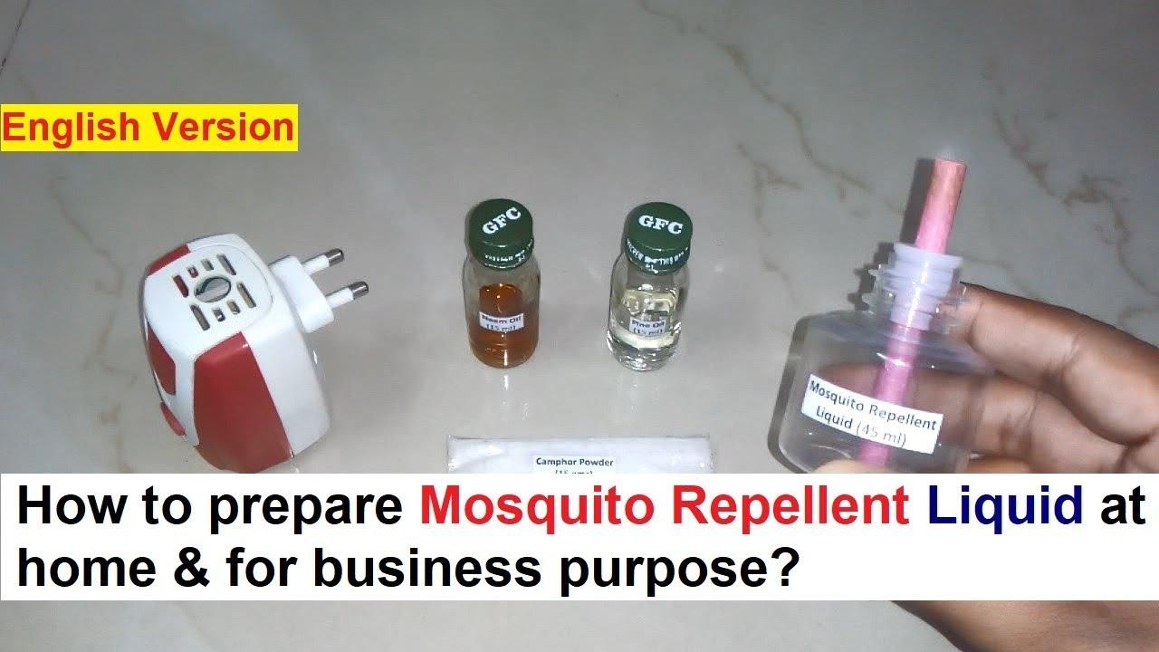 how to make mosquito liquid vaporizer
