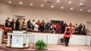 The kick off of the Alabama A&M Gospel Choir 2010 spring tour. Sing...