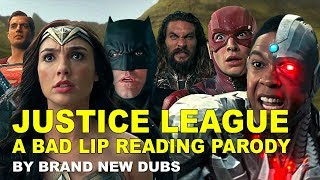 A Bad Lip Reading of Justice League | Justice League Bad Lip Reading Parody