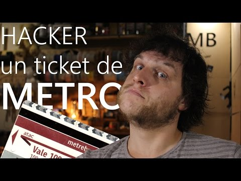 """ Hacker "" un ticket de métro - Monsieur Bidouille"