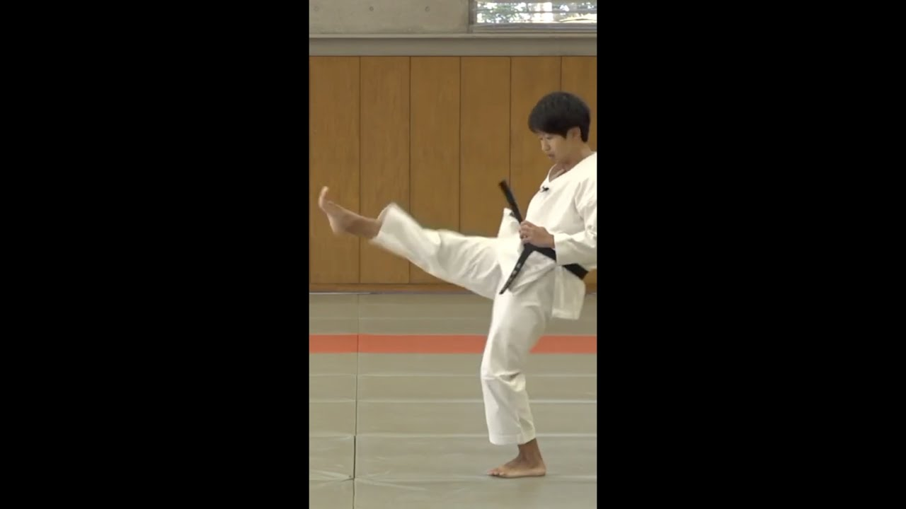 2 EASY TIPS FOR KARATE FRONT KICK!!! #shorts