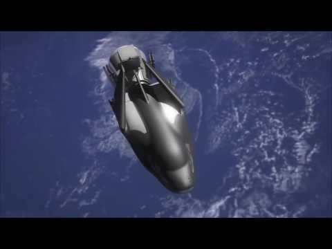 how the ‎DreamChaser‬ from Sierra Nevada Corporation will fly ‎NASA‬ cargo to & from the ISS