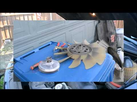 1997 - 2007 ford 4 2 v6 f-150 fan clutch installation / the easy way / tool  review