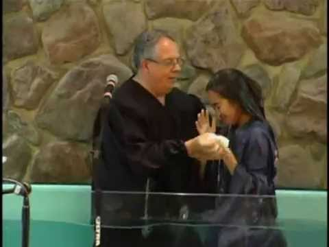 Baptism - Sarahlaine, Jackylaine And Katelaine Calva