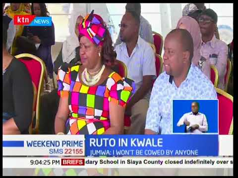 DP Ruto tells of critics and asks them to let him work