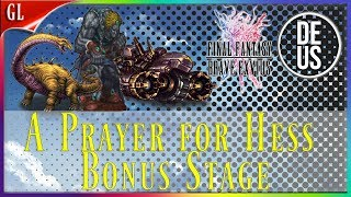 A Prayer for Hess Bonus Stages vs Cool guy in shades Final Fantasy Brave Exvius Global | FFBE GL