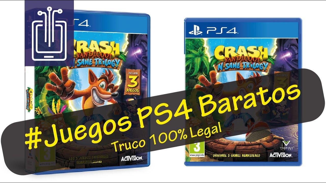 Comprar Juegos Ps4 Mas Baratos Precio De Eeuu Espanol Youtube