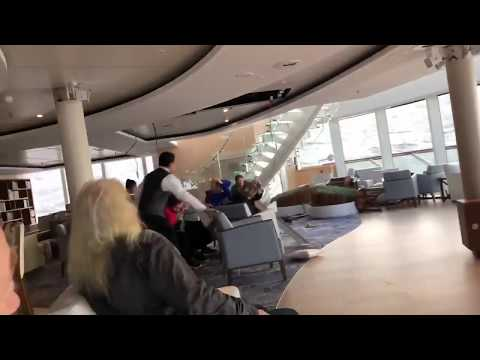 Lee Valsvik - Scary Video from the Vikings Sky Cruise Ship off the coast of Norway!