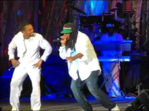 Blazer Dan & Machel Montano - Powder Puff / Be Mine Tonight - Live Performance