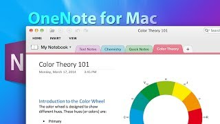 Microsoft OneNote for Mac Demo #ComputerClan