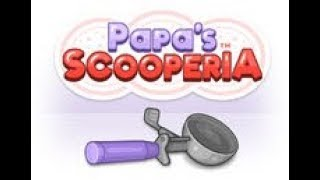 Let's Play Papa's Scooperia Part 1: Learning the Basics!