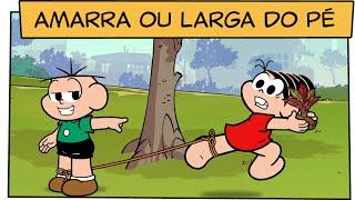Video Amarra ou larga do pé, Cebolinha! | Turma da Mônica download MP3, 3GP, MP4, WEBM, AVI, FLV Februari 2018