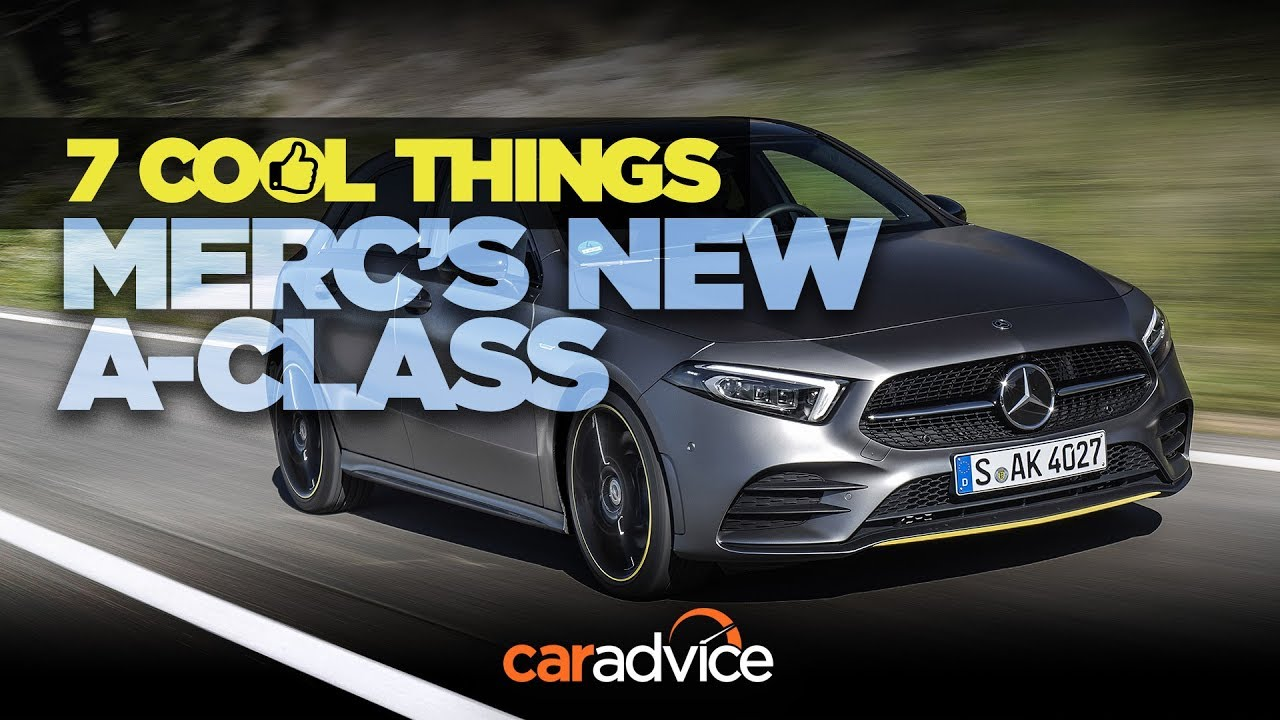 2018 Mercedes Benz A Class Review 7 Cool Things Youtube