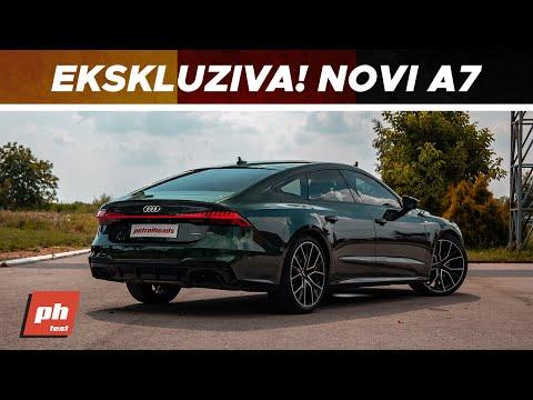 SAVRŠEN AUDI?! Novi Audi A7 w/ jjedan
