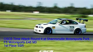 CSCS Shannonville Time Attack - 1st Place and Class Record - E46 M3