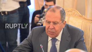 Russia  Lavrov and Venezuelan FM talk bilateral cooperation in Moscow