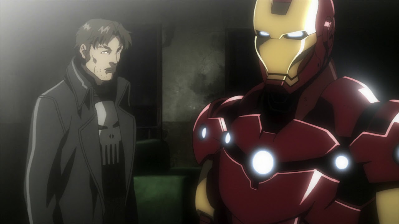 Download Iron Man and Punisher team up   Iron Man Rise of Technovore part 15