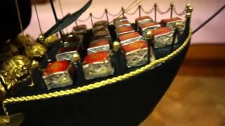 Пиратский корабль - подарок на днюху