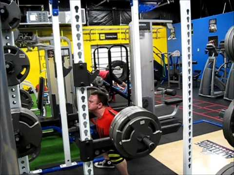 Wendler's 5/3/1 - 555 Squats - Work Sets & Pause Squats - YouTube
