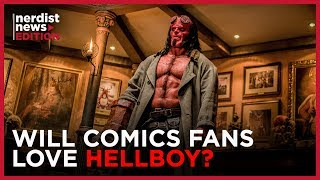 How the New HELLBOY Movie Brings Mike Mignola's Vision to Life (Nerdist News Edition)