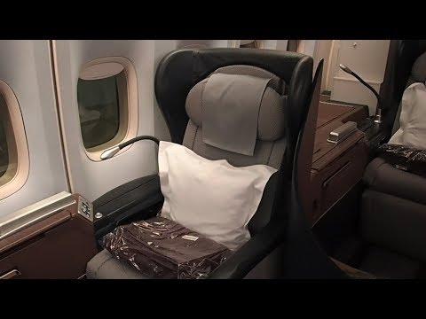 Qantas Tokyo Haneda to Sydney Business Class