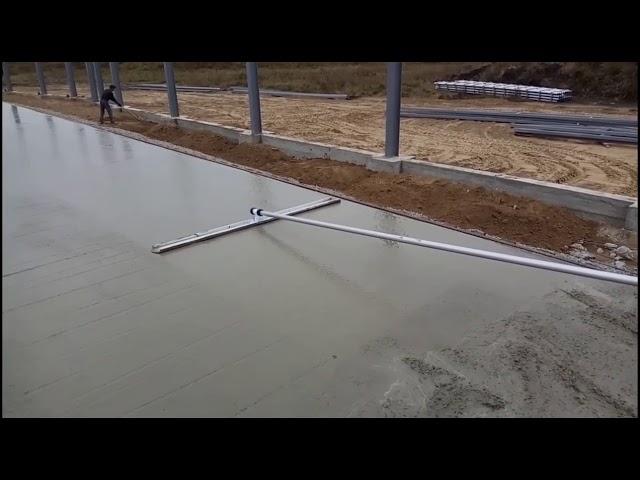 как заглаживают бетон