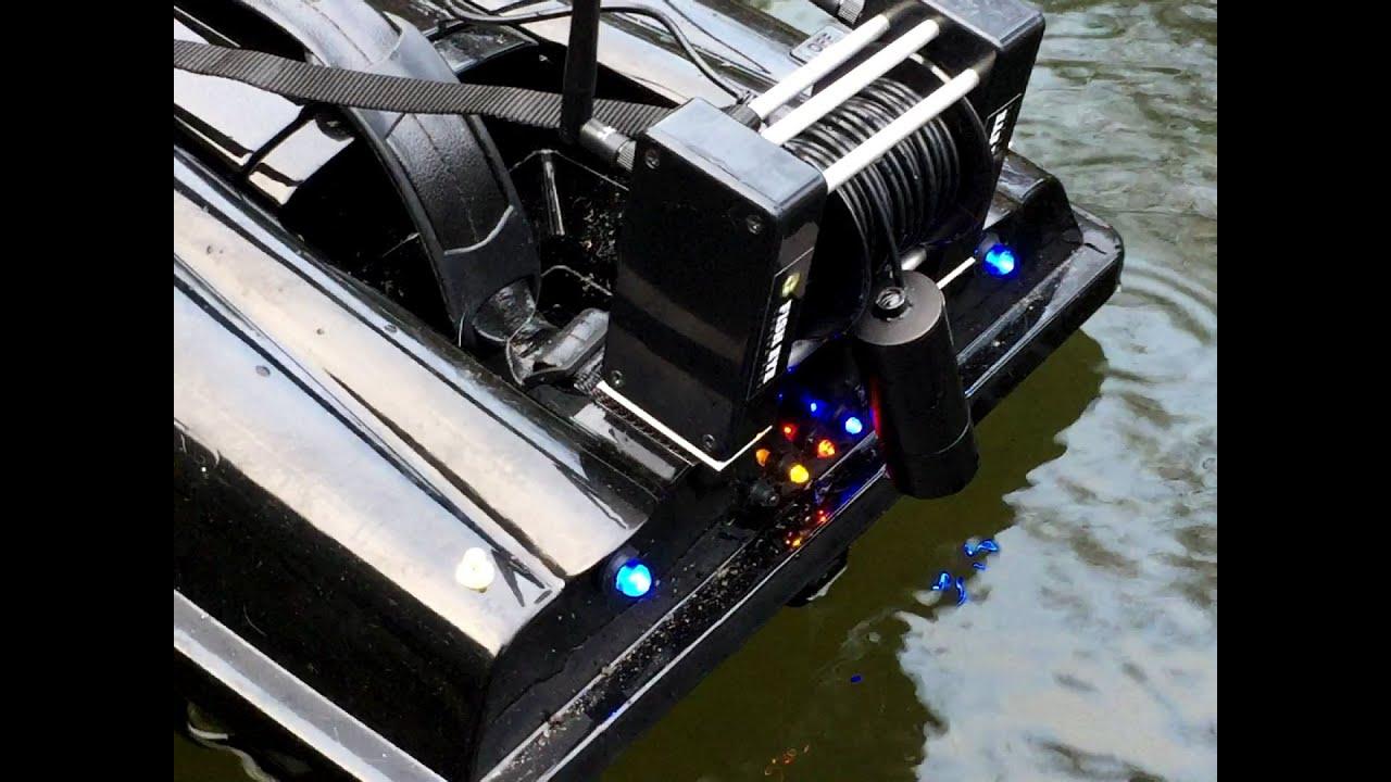 medium resolution of fish eye camera kit waverunner atom bait boat waterproof winch camera kit carp fishing