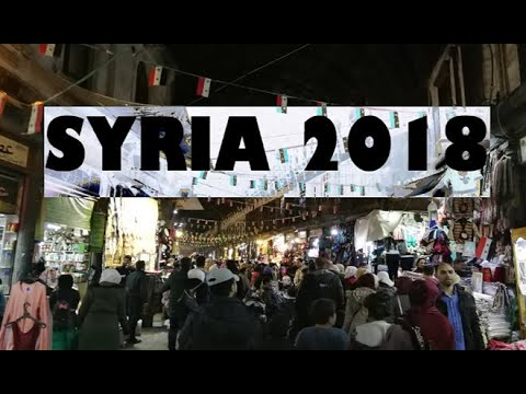 SYRIA Travel Vlog 2018 - Damascus and Homs