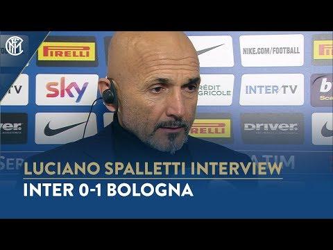 INTER 0-1 BOLOGNA | LUCIANO SPALLETTI INTERVIEW: 'Our fans deserve better'