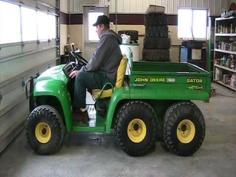 john deere gator 6x4 2332hrs youtube