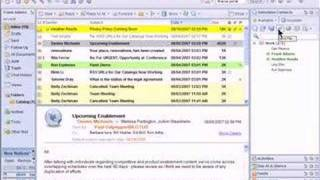 Lotus Notes 8: New features demonstration