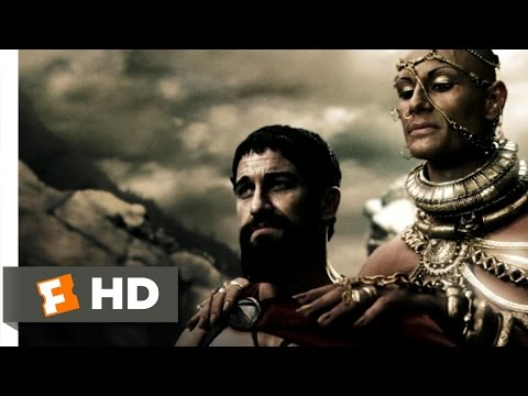 300 (4/5) Movie CLIP - Divine Power (2006) HD