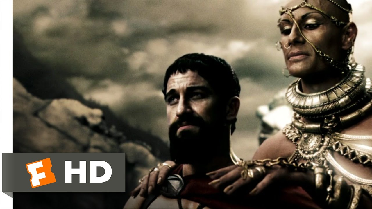 300 (2006) - divine power scene (4/5) | movieclips - youtube