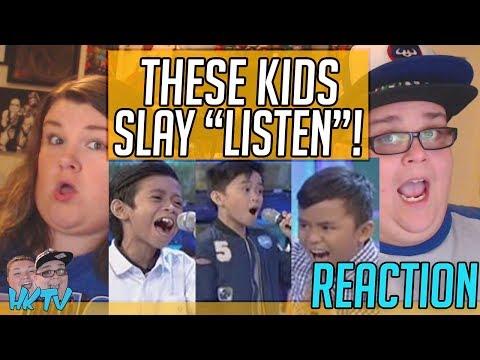 "GGV: Mackie, Francis, and Keifer sing ""Listen"" REACTION!! 🔥"