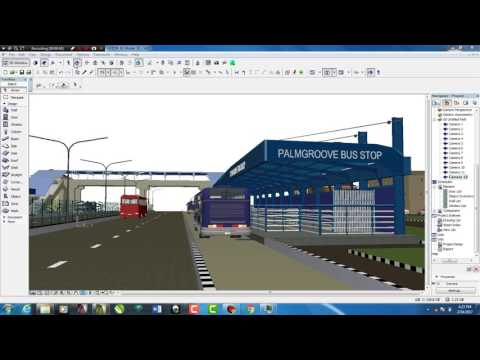 LAGOS IN 3D MODEL - ARCHICAD