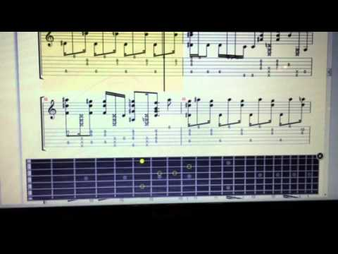 Over The Rainbow Pete Huttlinger Tab Player Youtube